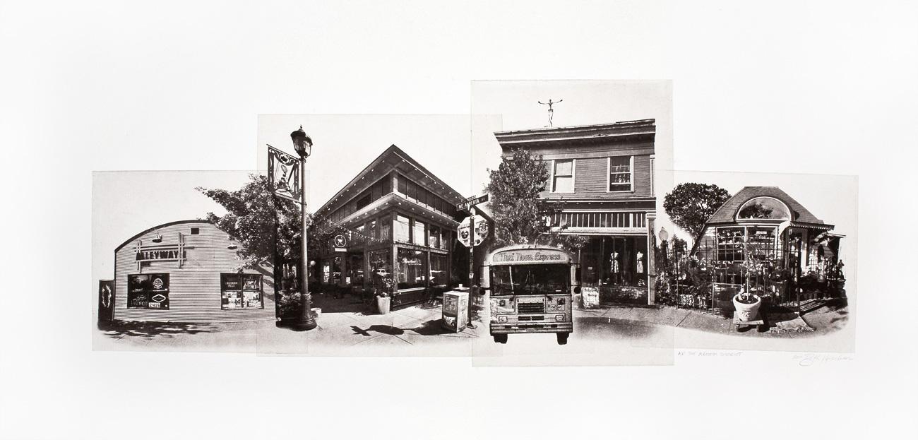Scene of Alberta Street, Portland OR