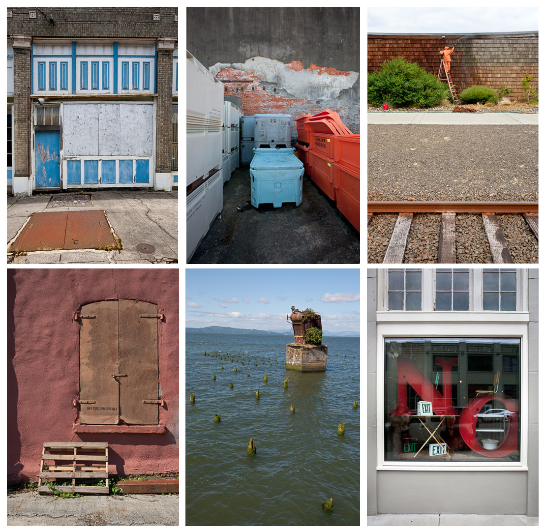 Detail images of Astoria, OR