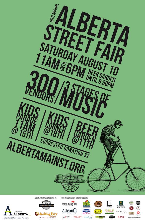 Alberta Street Fair Info