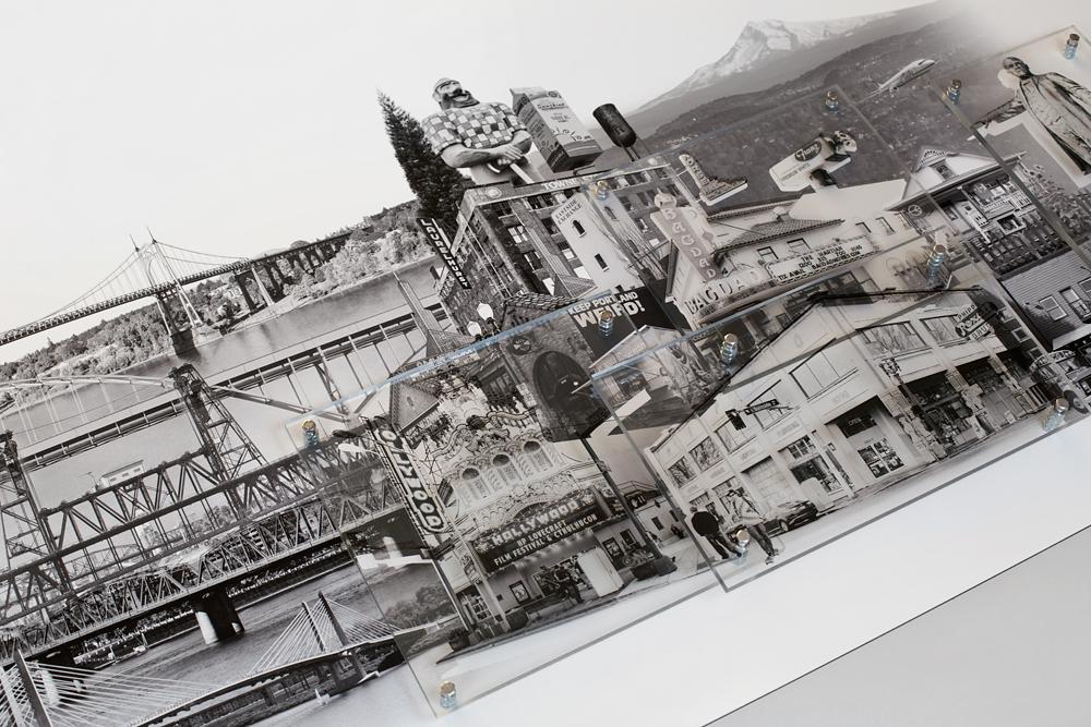 Portland: East Meets West - Detail (64 inch wide version)