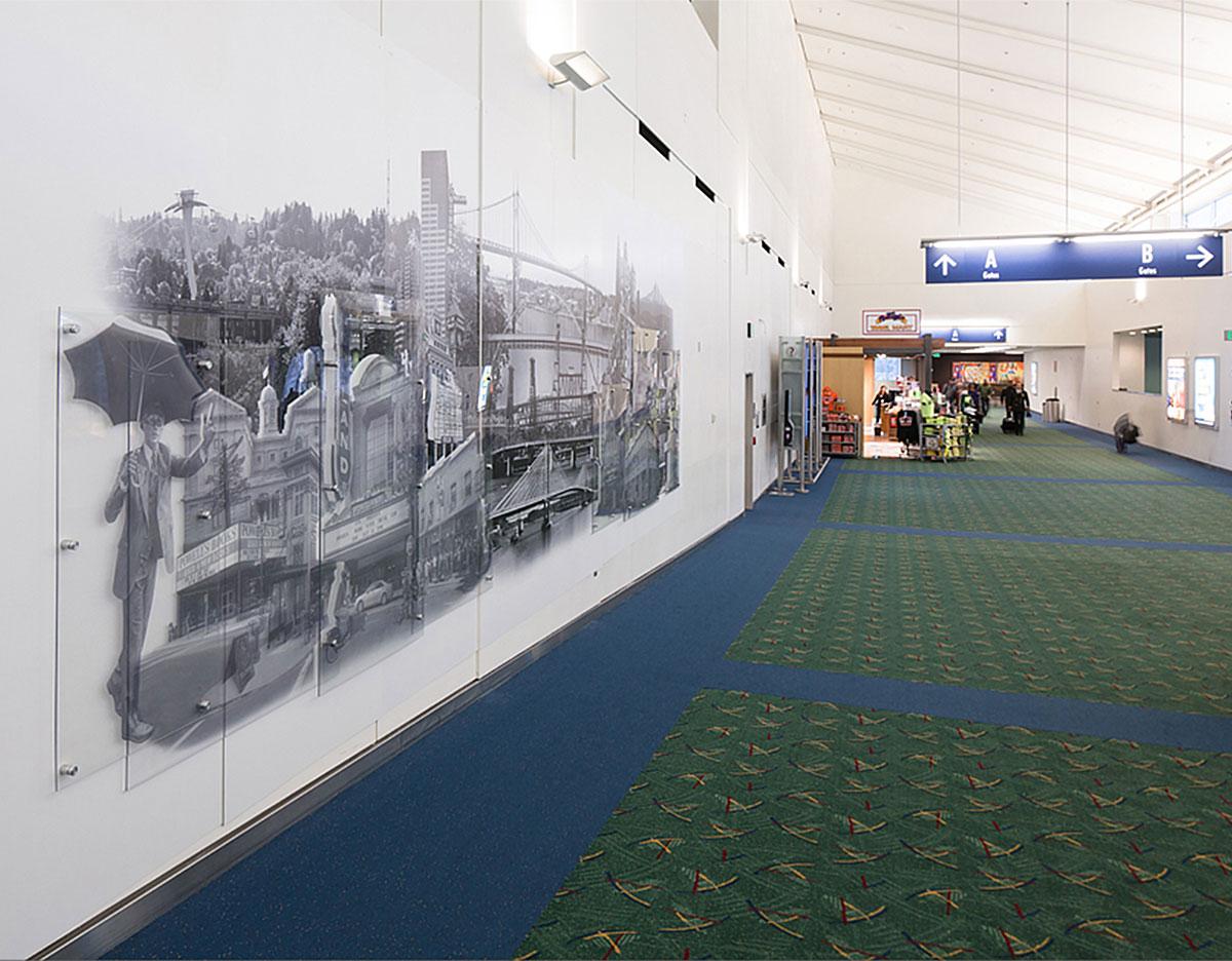 PDX Airport Art Installation